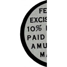 Federal Excise Tag World's Series